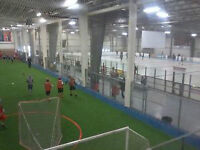 Indoor Soccer, cricket, softball, volleyball,basketball! Book it