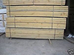 100 X 100 TREATED PINE POSTS 2.4M LENGTH H4