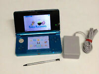 *****BLUE NINTENDO 3DS IN THE BOX + MANY GAMES AVAILABLE*****