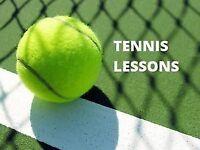 Tennis Lessons / Cours de Tennis / Hitting partner / All levels