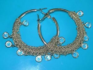 BRAND NEW! Large Bangle Earrings - pretty! $8 ~ NEVER WORN EVER
