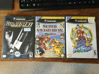 Super Mario Sunshine and 007 Rogue Agent Gamecube