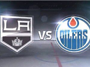 4 Tickets  LA Kings vs Edmonton Oilers Thursday December 29@7pm