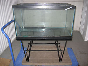 58 gal Tank + Stand with 3/4 Glass cover