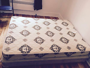 Almost new Queen size Matress and box Spring