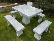 Granit Sitzgruppe
