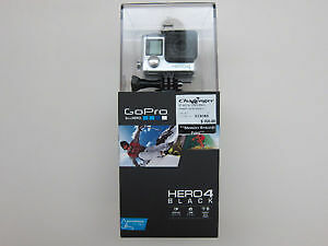 GoPro HERO4 Waterproof 4K Sports & Helmet Camera - Black Edition