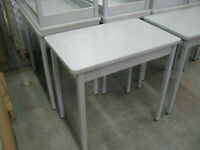 Tables/ Desks with Steel Base and Laminate Top