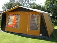 Vintage 70s camping tent