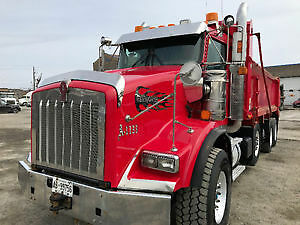 2009 kenworth t800 triaxle dump truck for sale