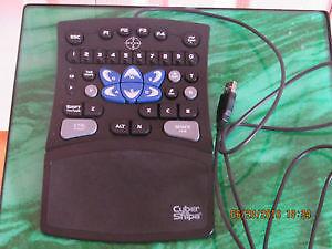 PC USB gamepad, unique slim design, adjustable handrest