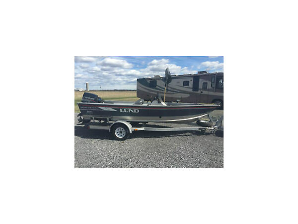 Used 1995 Lund Boat Co 1700 Pro Angler DLX SS