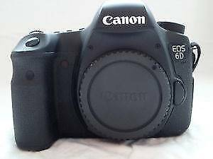 CANON 6D BODY ONLY LOW SHUTTER COUNT