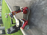 Electric Scooter - Shoprider - Very Comfortable! - Chair can be
