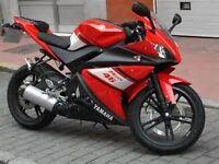 yzf r125 breaking 2011