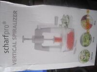 New Never used Zucchini Slicer Now £10.00