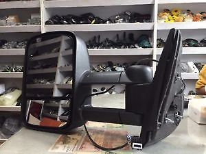 Towing Mirrors For 07-14 Ford F150 Power Heated Signal Puddle