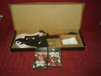 Guitar Hero 1 et 2 avec guitar et boite pour PLAYSTATION 2