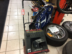 SNOWBLOWERS ON SALE NOW LESS THAN HALF PRICE