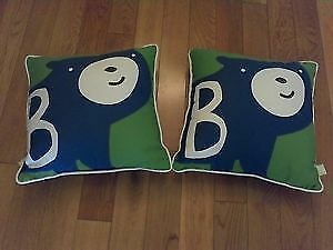 Pillows -Bear Design- For Boys (x2) --like new!-- Windsor Region Ontario image 1