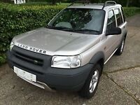 Land Rover freelander 2001 diesel