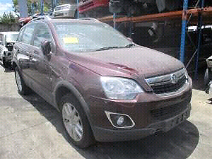 2008 holden captiva petrol wrecking for parts