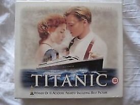 Titanic VHS box set . Collectors Edition