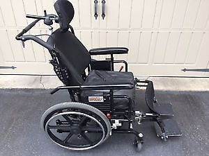 Tilting wheelchair - great condition