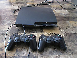 PS3 + 22 Games (2 Controllers + Needed Wires)