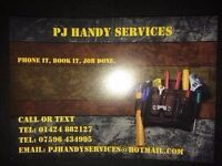 PJ Handy Services NO JOB TOO BIG OR TOO SMALL
