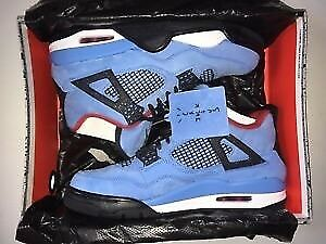 Travis Scott Cactus Jack Air Jordan 4 9.5