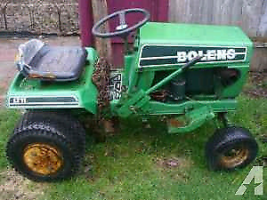 Wanted: lawn tractor