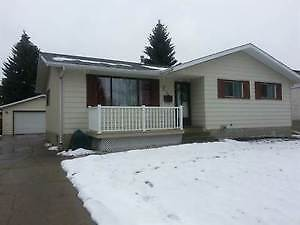 Lacombe 4 Bedroom Bungalow with Garage