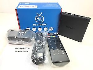 Android Box IPTV HD MAG Buzz TV +Wireless +Remote +4K +Free Show