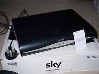 Sky+ HD Box 250GB storage