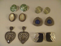 Six Pairs Of Assorted Earrings For Pierced Ears