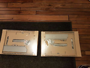 2 NEW Drawer Brackets by IKEA (Brackets Only)