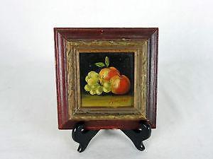 small vintage oil painting - Industrial Vintage Wohnhaus Loft Stil