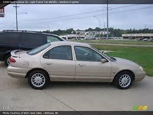 1998 Ford Contour SE Sedan UNDER 100,000 KM
