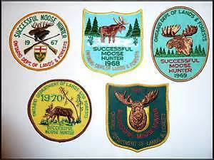 MNR Moose Crests / Patches