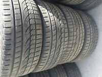 4 x 265/40R21 Continental SportContact 2 *Pneus D'occasion