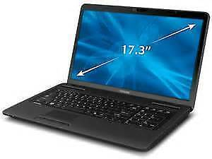 "Toshiba Satellite 17"" i5 laptop model C670 for sale"