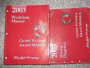 Service manuals for Mercury Marquis / Crown Vic