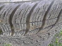 STUDED 215 \55 R 17 WINTER TIRES FOR SELL.
