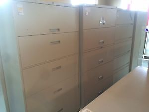 Used 5 Drawer Filing Cabinets- Many Available! Starting at $249