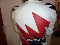 Motorcycle one piece road or track leathers, size UK40/EU50