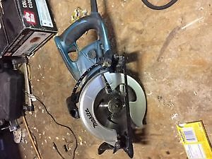 Skill saw 7 1/4 inches