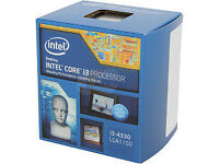 Intel Core i3-4330, SEALED NEW RETAIL BOX!