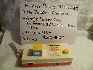 1974 Fisher Price Pocket Camera
