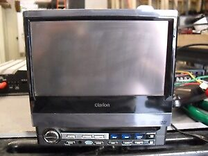 Clarion 7 inch in-dash touch screen tv/dvd